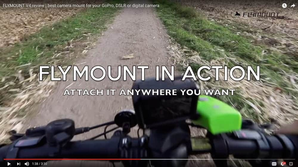 Daniel Weiner reviews the Flymount Generation 4 action camera mount